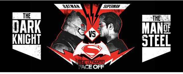 Hrnek  Batman vs. Superman: Úsvit spravedlnosti - Face Off