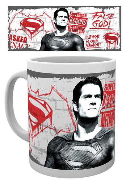 Hrnek Batman vs. Superman: Úsvit spravedlnosti - False God