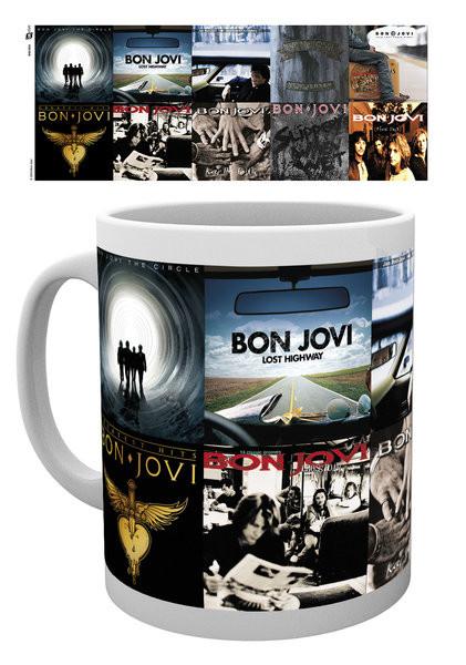 Hrnek  Bon Jovi - Albums
