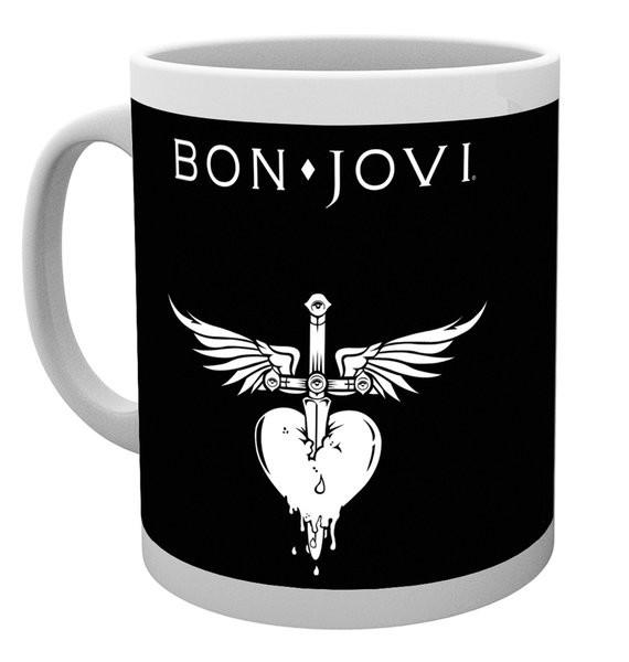 Hrnek  Bon Jovi - Logo
