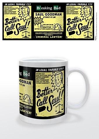 Hrnek Breaking Bad (Perníkový táta) - Better call Saul