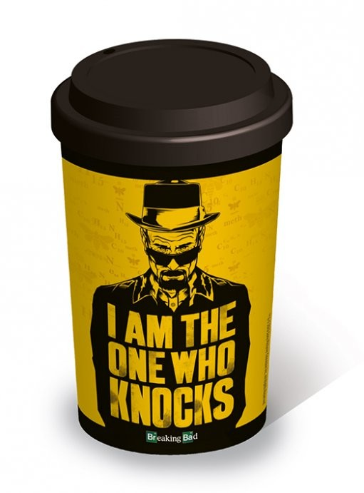 Hrnek Breaking Bad (Perníkový táta) - I am the one who knocks - Travel Mug