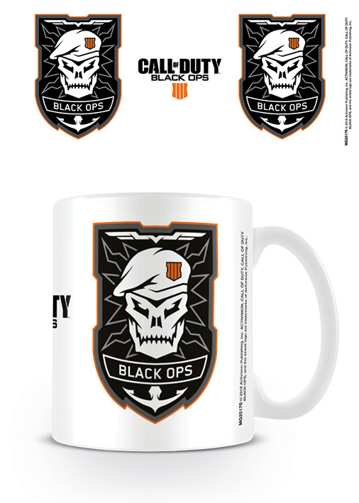 Hrnek Call Of Duty - Black Ops 4 - Logo
