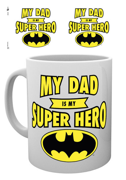 Hrnek  DC Comics - Batman Dad Superhero