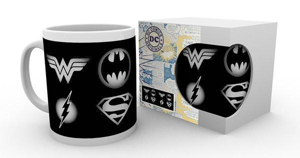 Hrnek DC Comics - Logos