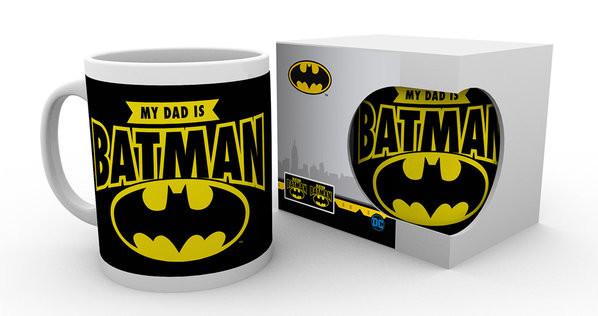 Hrnek  DC Comics - My Dad Is Batman