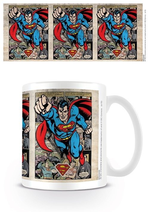 Hrnek DC Originals - Superman - Montage