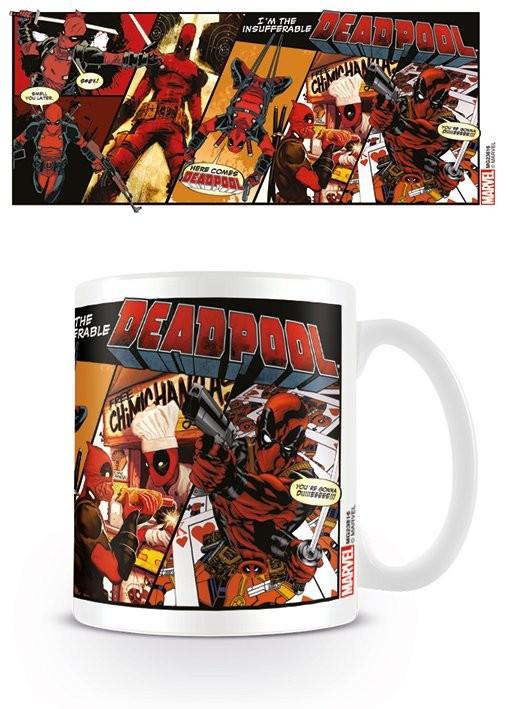 Hrnek  Deadpool - Comic Insufferable