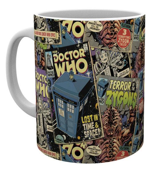 Hrnek  Doctor Who - Comic Books