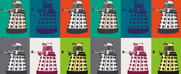 Hrnek  Doctor Who - Pop Art