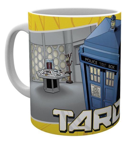 Hrnek  Doctor Who - Tardis Scene