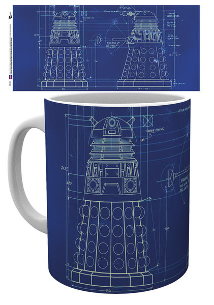Hrnek  Doctor Who - Tardis Sign