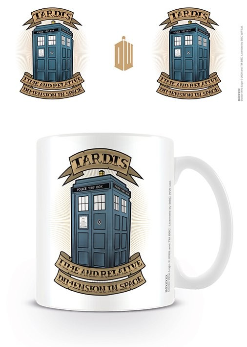 Hrnek Doctor Who - Tardis Tattoo
