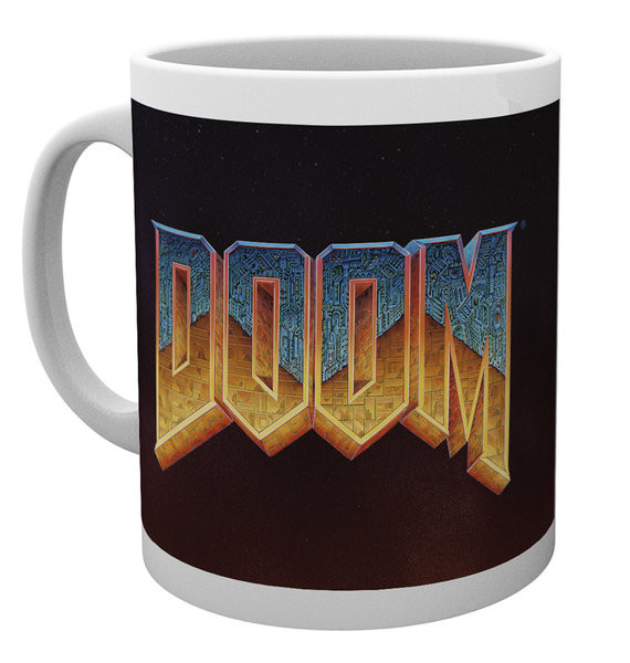 Hrnek Doom - Classic Logo