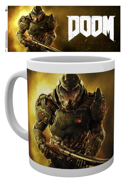 Hrnek  Doom - Marine
