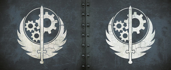 Hrnek  Fallout - Brotherhood of steel