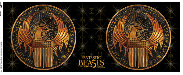 Hrnek  Fantastická zvířata a kde je najít - Logo
