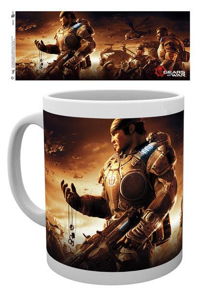 Hrnek  Gears Of War 4 - Keyart 2