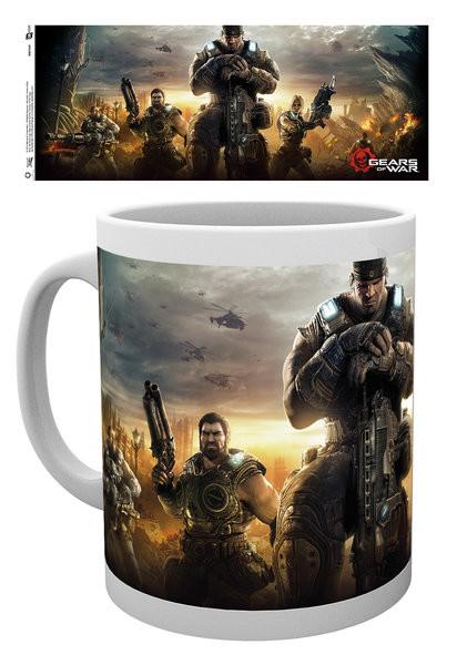 Hrnek  Gears Of War 4 - Keyart 3