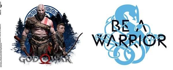 Hrnek  God Of War - Be A Warrior