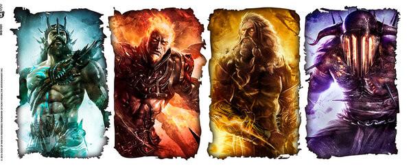 Hrnek  God of War - Gods