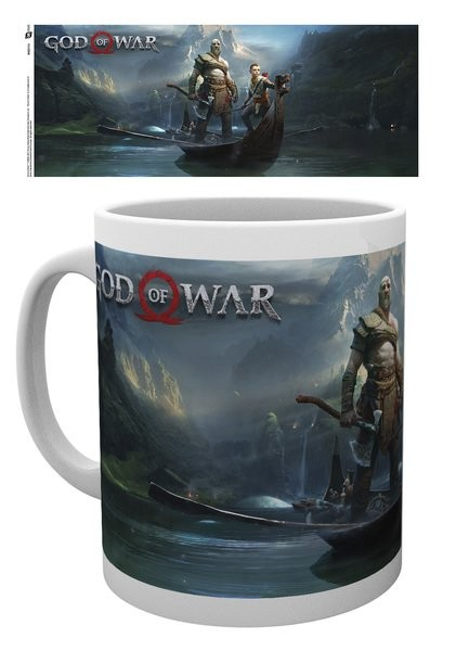 Hrnek  God Of War - Key Art