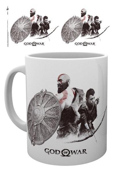 Hrnek  God Of War - Kratos and Atreus
