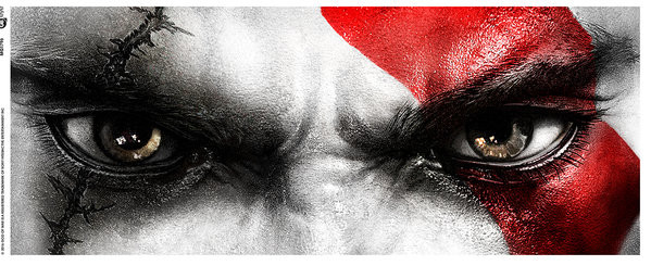 Hrnek  God of War - Kratos Eyes
