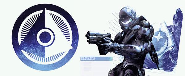 Hrnek  Halo 5 - Osiris