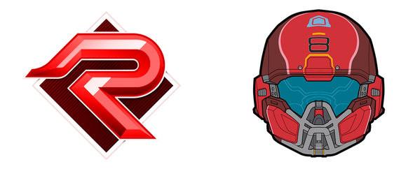 Hrnek  Halo 5 - PVP Red