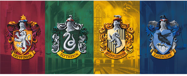 Hrnek  Harry Potter - All Crests