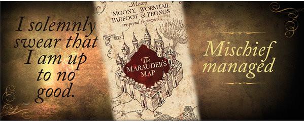 Hrnek  Harry Potter - Marauder's map