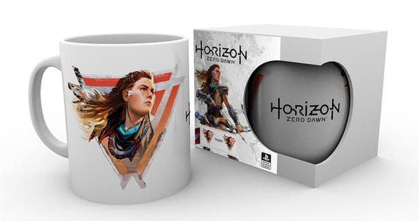 Hrnek  Horizon Zero Dawn - Aloy