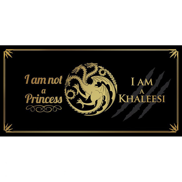 Hrnek  Hra o Trůny (Game of Thrones) - I am not a princess