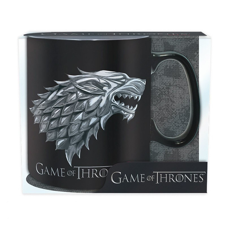 Hrnek Hra o Trůny (Game of Thrones) - Stark/Winter is coming