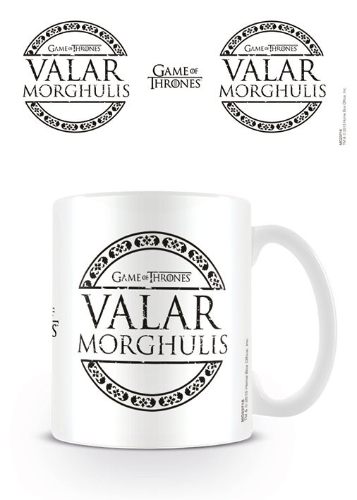 Hrnek Hra o Trůny (Game of Thrones) - Valar Morghulis