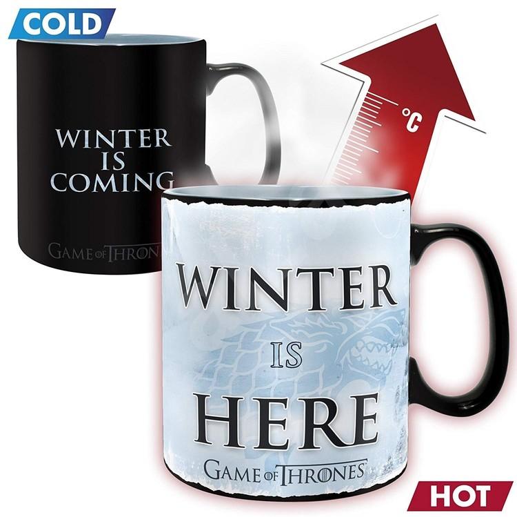 Hrnek Hra o Trůny (Game of Thrones) - Winter is here