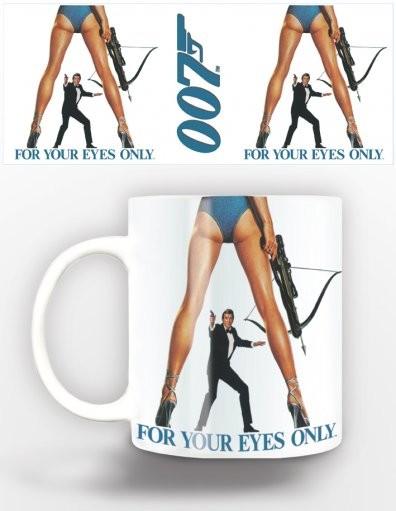 Hrnek  James Bond - for your eyes