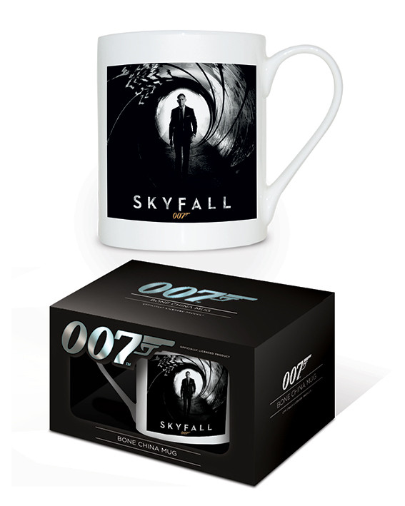 Hrnek James Bond: Skyfall - Bone China Mug