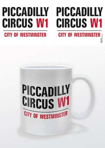 Hrnek Londýn - Piccadilly Circus