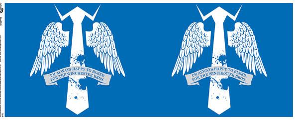 Hrnek  Lovci duchů - Wings
