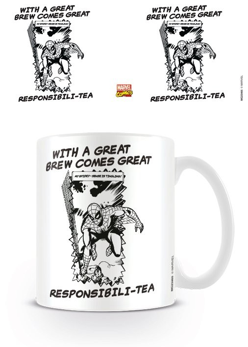 Hrnek  Marvel Retro - Great Responsibili-tea