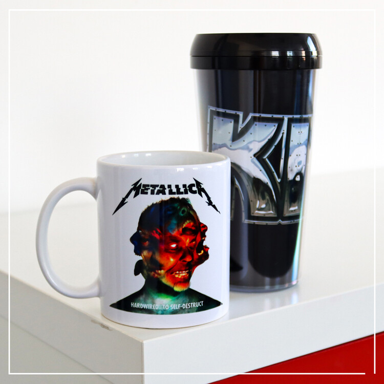 Hrnek Metallica - Hardwired Album
