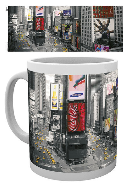 Hrnek  New York - Times square