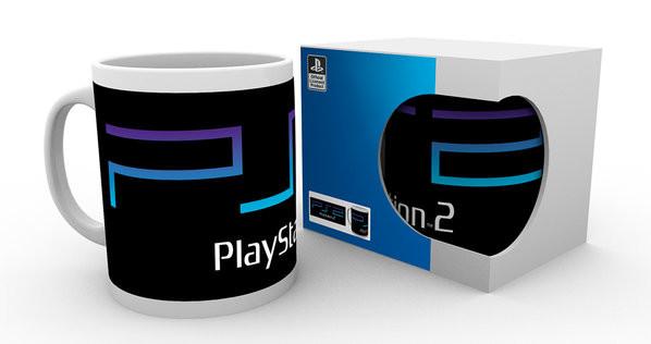 Hrnek  Playstation - PS2 Logo