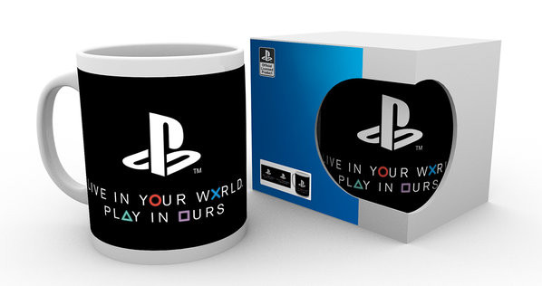 Hrnek  Playstation - World