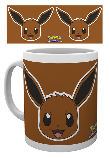 Hrnek Pokemon - Eevee Face