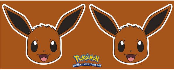 Hrnek  Pokemon - Eevee Face