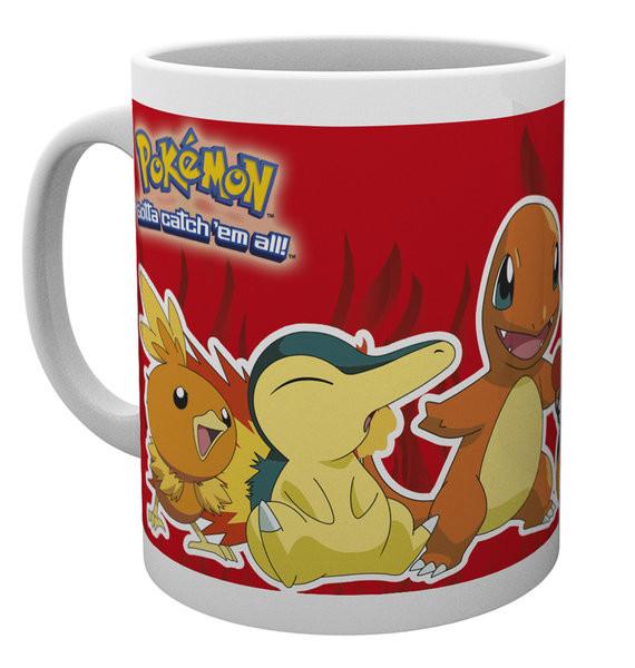 Hrnek  Pokémon - Fire Partners