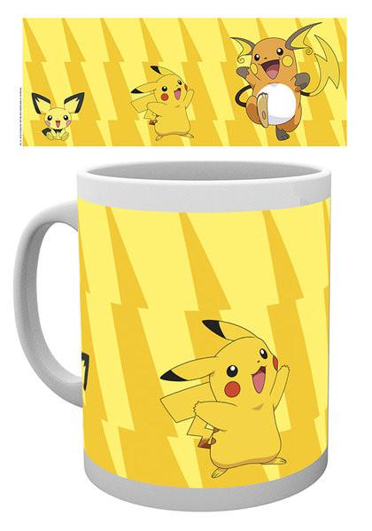Hrnek Pokémon - Pikachu Evolve